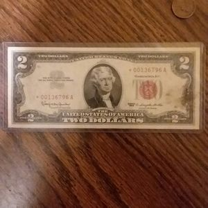 1963 STAR NOTE RED SEAL